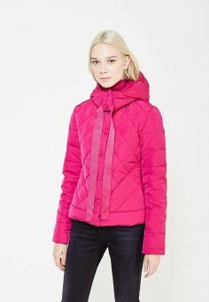Пуховик, Armani Jeans, цвет: фуксия. Артикул: AR411EWTYA50. Премиум / Одежда / Верхняя одежда / Пуховики и зимние куртки