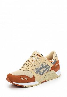 Кроссовки, ASICSTiger, цвет: бежевый. Артикул: AS009AUUMH42. Женская обувь / Кроссовки и кеды