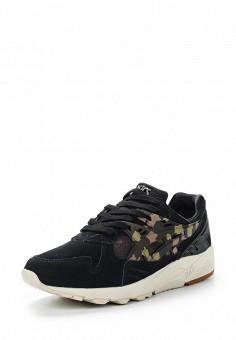 Кроссовки, ASICSTiger, цвет: черный. Артикул: AS009AUUMH48. Женская обувь / Кроссовки и кеды