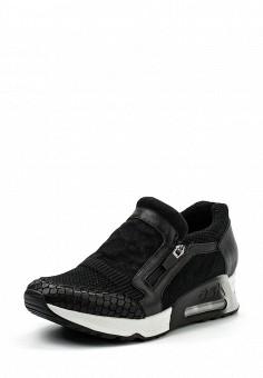 Кроссовки, Ash, цвет: черный. Артикул: AS069AWUIT62. Премиум / Обувь / Кроссовки и кеды