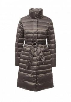 Пуховик, Baon, цвет: хаки. Артикул: BA007EWLOC48. Женская одежда / Верхняя одежда / Пуховики и зимние куртки