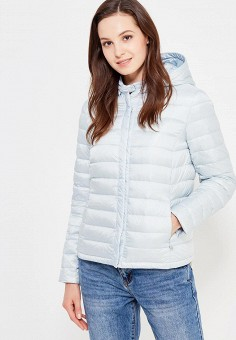 Пуховик, Baon, цвет: голубой. Артикул: BA007EWWAQ36. Женская одежда / Верхняя одежда / Пуховики и зимние куртки