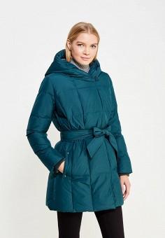 Пуховик, Baon, цвет: зеленый. Артикул: BA007EWWAQ38. Женская одежда / Верхняя одежда / Пуховики и зимние куртки