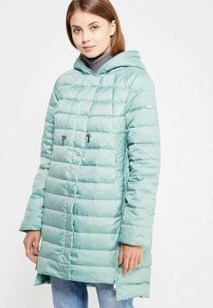 Пуховик, Baon, цвет: мятный. Артикул: BA007EWWAQ42. Женская одежда / Верхняя одежда / Пуховики и зимние куртки