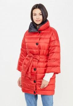 Пуховик, Baon, цвет: красный. Артикул: BA007EWWAQ63. Женская одежда / Верхняя одежда / Пуховики и зимние куртки