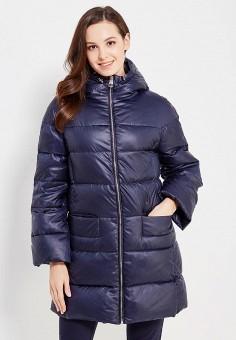 Пуховик, Baon, цвет: синий. Артикул: BA007EWWAQ90. Женская одежда / Верхняя одежда / Пуховики и зимние куртки