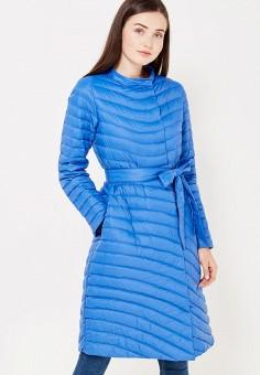 Пуховик, Baon, цвет: синий. Артикул: BA007EWWAR20. Женская одежда / Верхняя одежда / Пуховики и зимние куртки