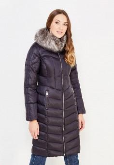 Пуховик, Baon, цвет: черный. Артикул: BA007EWWAR38. Женская одежда / Верхняя одежда / Пуховики и зимние куртки / Длинные пуховики и куртки