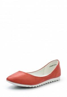 Балетки, Betsy, цвет: коралловый. Артикул: BE006AWQBU99. Женская обувь
