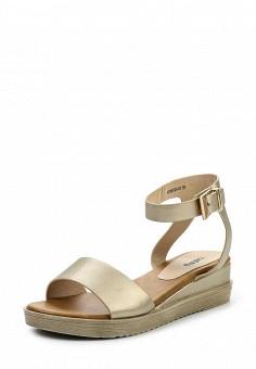 Сандалии, Betsy, цвет: золотой. Артикул: BE006AWQBV21. Женская обувь