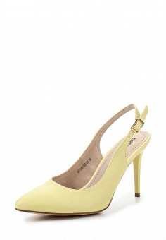 Туфли, Betsy, цвет: желтый. Артикул: BE006AWQCC41. Женская обувь