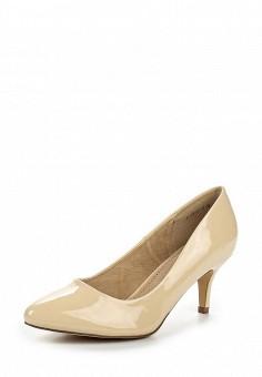 Туфли, Betsy, цвет: бежевый. Артикул: BE006AWQCC51. Женская обувь