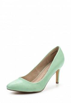 Туфли, Betsy, цвет: зеленый, мятный. Артикул: BE006AWQCC54. Женская обувь