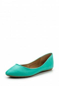 Балетки, Betsy, цвет: мятный. Артикул: BE006AWQCC70. Женская обувь
