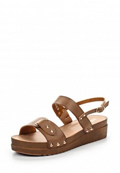 Сандалии, Betsy, цвет: коричневый. Артикул: BE006AWQCC95. Женская обувь