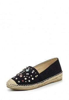 Эспадрильи, Betsy, цвет: черный. Артикул: BE006AWQCC98. Женская обувь