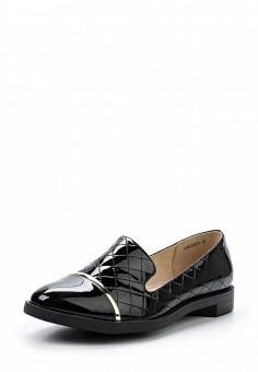Лоферы, Betsy, цвет: черный. Артикул: BE006AWUDW35. Женская обувь