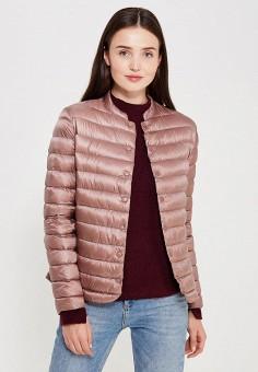 Куртка утепленная, Befree, цвет: розовый. Артикул: BE031EWUXN91. Женская одежда / Верхняя одежда / Пуховики и зимние куртки