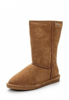 Полусапоги, Bearpaw, цвет: коричневый. Артикул: BE223AWYBR69. Женская обувь / Сапоги