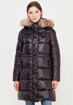 Пуховик, Blauer, цвет: черный. Артикул: BL654EWVFB63. Премиум / Одежда / Верхняя одежда / Пуховики и зимние куртки