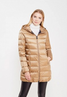 Пуховик, Bosideng, цвет: коричневый. Артикул: BO026EWVBC34. Премиум / Одежда / Верхняя одежда / Пуховики и зимние куртки