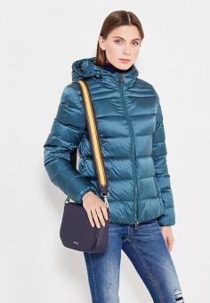 Пуховик, Bosideng, цвет: зеленый. Артикул: BO026EWVBC37. Женская одежда / Верхняя одежда / Пуховики и зимние куртки