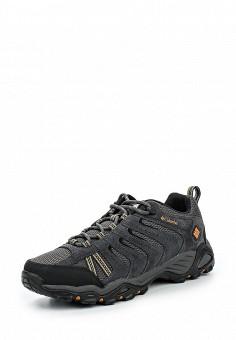 Ботинки трекинговые, Columbia, цвет: серый. Артикул: CO214AMMEG95. Мужская обувь / Ботинки и сапоги