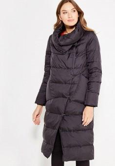 Пуховик, Defreeze, цвет: черный. Артикул: DE032EWWKF55. Женская одежда / Верхняя одежда / Пуховики и зимние куртки