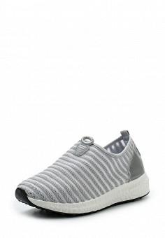 Кроссовки, Fashion & Bella, цвет: серый. Артикул: FA034AWSAE92. Женская обувь / Кроссовки и кеды