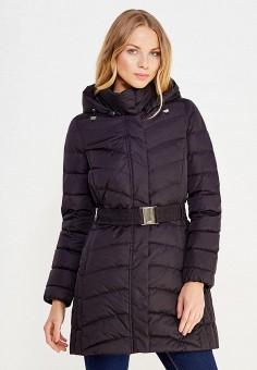 Пуховик, Geox, цвет: черный. Артикул: GE347EWVAL91. Женская одежда / Верхняя одежда / Пуховики и зимние куртки