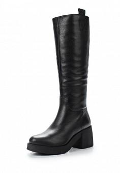 Сапоги, Giotto, цвет: черный. Артикул: GI514AWWHA35. Женская обувь / Сапоги