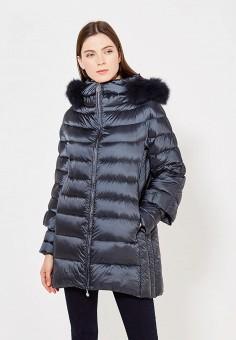 Пуховик, Hetrego, цвет: зеленый. Артикул: HE832EWVIV37. Премиум / Одежда / Верхняя одежда / Пуховики и зимние куртки
