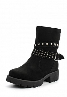 Полусапоги, Instreet, цвет: черный. Артикул: IN011AWKOH31. Женская обувь / Сапоги