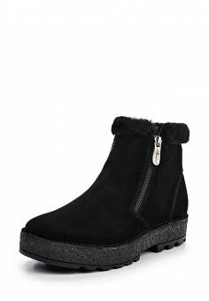 Полусапоги, La Grandezza, цвет: черный. Артикул: LA051AWKLN33. Женская обувь / Сапоги