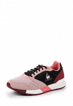 Кроссовки, Le Coq Sportif, цвет: розовый. Артикул: LE004AWVWM38. Женская обувь / Кроссовки и кеды / Кроссовки