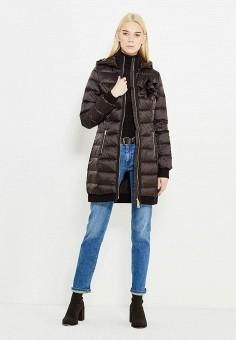 Пуховик, Liu Jo, цвет: черный. Артикул: LI687EWUDM85. Премиум / Одежда / Верхняя одежда / Пуховики и зимние куртки
