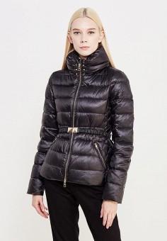 Пуховик, Liu Jo, цвет: черный. Артикул: LI687EWUDM87. Премиум / Одежда / Верхняя одежда / Пуховики и зимние куртки