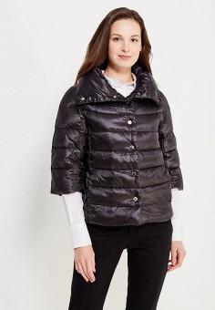 Пуховик, Love Republic, цвет: черный. Артикул: LO022EWUTC25. Женская одежда / Верхняя одежда / Пуховики и зимние куртки