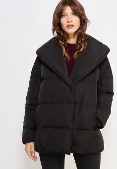 Пуховик, Mango, цвет: черный. Артикул: MA002EWVWU16. Женская одежда / Верхняя одежда / Пуховики и зимние куртки