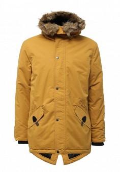 Куртка утепленная, Modis, цвет: желтый. Артикул: MO044EMWYW25. Мужская одежда / Верхняя одежда / Пуховики и зимние куртки