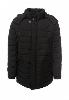 Пуховик, Colin's, цвет: черный. Артикул: MP002XM0W3W3. Мужская одежда / Верхняя одежда / Пуховики и зимние куртки