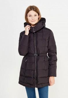 Пуховик, Colin's, цвет: черный. Артикул: MP002XW1AIOX. Женская одежда / Верхняя одежда / Пуховики и зимние куртки