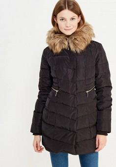 Пуховик, Colin's, цвет: черный. Артикул: MP002XW1AIP3. Женская одежда / Верхняя одежда / Пуховики и зимние куртки