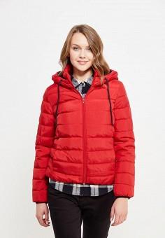 Пуховик, Colin's, цвет: красный. Артикул: MP002XW1ASCK. Женская одежда / Верхняя одежда / Пуховики и зимние куртки