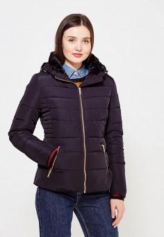 Пуховик, Colin's, цвет: синий. Артикул: MP002XW1ASF4. Женская одежда / Верхняя одежда / Пуховики и зимние куртки