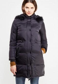 Пуховик, Colin's, цвет: черный. Артикул: MP002XW1B38Y. Женская одежда / Верхняя одежда / Пуховики и зимние куртки