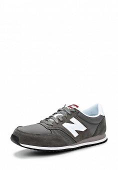 Кроссовки, New Balance, цвет: серый. Артикул: NE007AUDWX70. Женская обувь / Кроссовки и кеды / Кроссовки