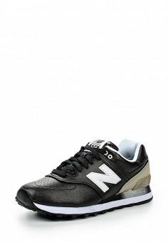 Кроссовки, New Balance, цвет: черный. Артикул: NE007AWJKW81. Женская обувь / Кроссовки и кеды / Кроссовки
