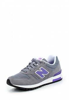 Кроссовки, New Balance, цвет: серый. Артикул: NE007AWPEH94. Женская обувь / Кроссовки и кеды / Кроссовки