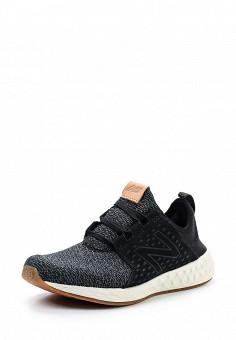 Кроссовки, New Balance, цвет: черный. Артикул: NE007AWUNX12. Женская обувь / Кроссовки и кеды / Кроссовки